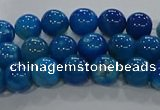 CAA1056 15.5 inches 6mm round dragon veins agate beads wholesale
