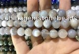 CAA1534 15.5 inches 12mm round banded agate beads wholesale