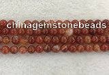 CAA1903 15.5 inches 10mm round banded agate gemstone beads