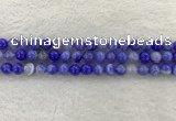 CAA1942 15.5 inches 8mm round banded agate gemstone beads