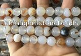 CAA3600 15.5 inches 12mm round dendritic agate beads wholesale