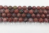 CAA3632 15.5 inches 12mm faceted round Portuguese agate beads
