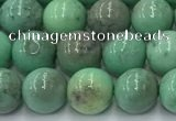 CAA4870 15.5 inches 6mm round grass agate beads wholesale