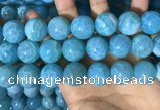 CAA5148 15.5 inches 18mm round dragon veins agate beads wholesale