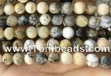 CAA5260 15.5 inches 14mm round dendrite agate beads wholesale