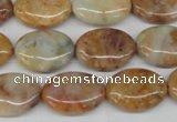 CAG1093 15.5 inches 13*18mm oval Morocco agate beads wholesale