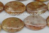 CAG1094 15.5 inches 18*25mm oval Morocco agate beads wholesale