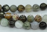 CAG1686 15.5 inches 8mm round ocean agate beads wholesale