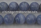 CAG2370 15.5 inches 14mm round blue lace agate beads wholesale