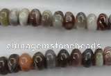 CAG3702 15.5 inches 5*8mm rondelle botswana agate beads wholesale