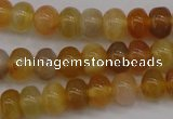 CAG4330 15.5 inches 5*7mm rondelle botswana agate gemstone beads
