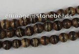 CAG4740 15 inches 6mm round tibetan agate beads wholesale