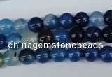 CAG5006 15.5 inches 8mm round agate gemstone beads wholesale