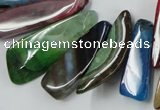 CAG5451 15.5 inches 10*18mm - 15*60mm freeform agate gemstone beads
