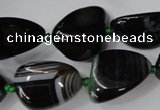 CAG5528 15.5 inches 14*18mm - 22*32mm nuggets agate gemstone beads
