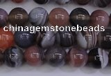 CAG5952 15.5 inches 8mm round botswana agate beads wholesale