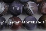 CAG5957 15.5 inches 18mm round botswana agate beads wholesale