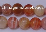 CAG6342 15 inches 8mm round red botswana agate beads wholesale