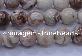 CAG6661 15.5 inches 6mm round Mexican crazy lace agate beads