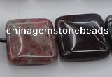CAG6780 15.5 inches 16*16mm square Indian agate beads wholesale