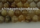 CAG9401 15.5 inches 6mm round ocean fossil agate beads wholesale