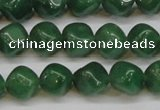 CAJ670 15.5 inches 9*9mm cube green aventurine beads