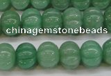 CAJ672 15.5 inches 10*13mm pumpkin green aventurine beads