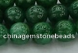 CAJ723 15.5 inches 10mm round green aventurine beads wholesale