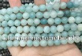 CAM1732 15.5 inches 8mm round amazonite gemstone beads