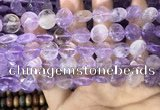 CAN233 15.5 inches 12mm faceted coin ametrine beads wholesale