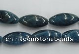 CAP206 15.5 inches 10*20mm rice natural apatite gemstone beads