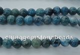 CAP301 15.5 inches 6mm round natural apatite gemstone beads