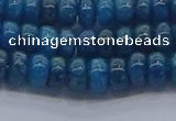 CAP369 15.5 inches 4*6mm rondelle apatite gemstone beads