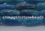 CAP376 15.5 inches 6*16mm teardrop apatite gemstone beads