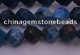 CAP562 15.5 inches 8mm faceted nuggets apatite gemstone beads