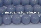 CAS203 15.5 inches 10mm round blue angel skin gemstone beads