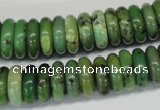 CAU29 15.5 inches 5*15mm rondelle australia chrysoprase beads wholesale