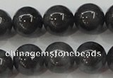 CBJ504 15.5 inches 10mm round black jade beads wholesale