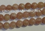 CBQ03 15.5 inches 8mm round strawberry quartz beads wholesale