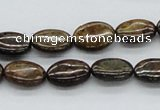 CBZ04 15.5 inches 10*14mm oval bronzite gemstone beads wholesale