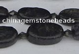 CCG127 15.5 inches 8*16mm oval charoite gemstone beads