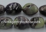 CCG16 15.5 inches 15*22mm nugget natural charoite gemstone beads