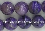 CCG302 15.5 inches 8mm round natural charoite gemstone beads