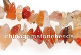 CCH06 35 inches red onyx chips gemstone beads wholesale