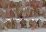 CCH202 34 inches 3*5mm pink opal chips gemstone beads wholesale