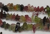 CCH212 16 inches 3*5mm tourmaline chips gemstone beads wholesale