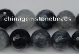 CCN1266 15.5 inches 14mm faceted round candy jade beads wholesale