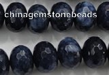 CCN1437 15.5 inches 12*16mm faceted rondelle candy jade beads