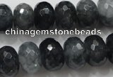 CCN1603 15.5 inches 10*14mm faceted rondelle candy jade beads