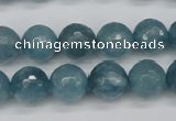 CCN1914 15 inches 12mm faceted round candy jade beads wholesale